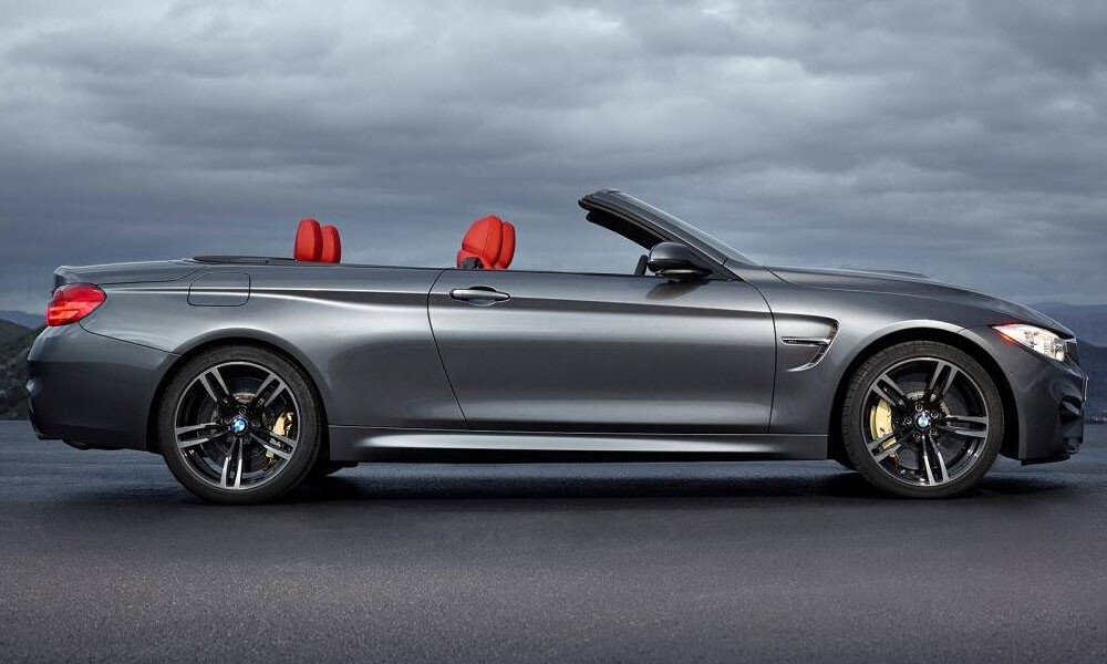 BMW M4 Convertible luxury car