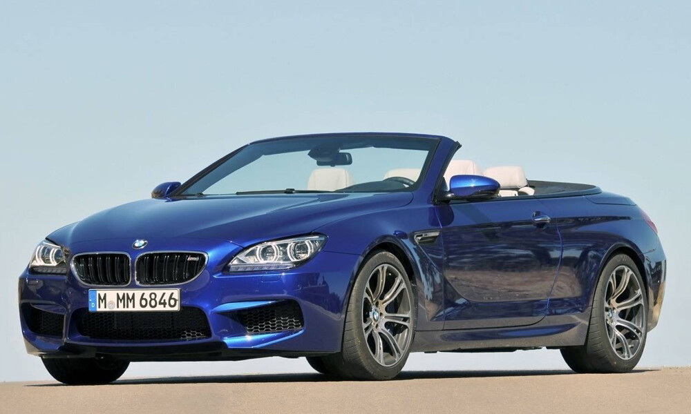 BMW M6 Convertible luxury car