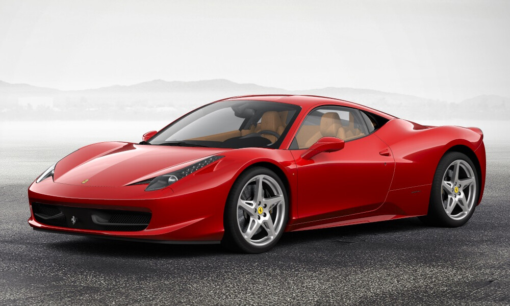Ferrari 458 Italia luxury car