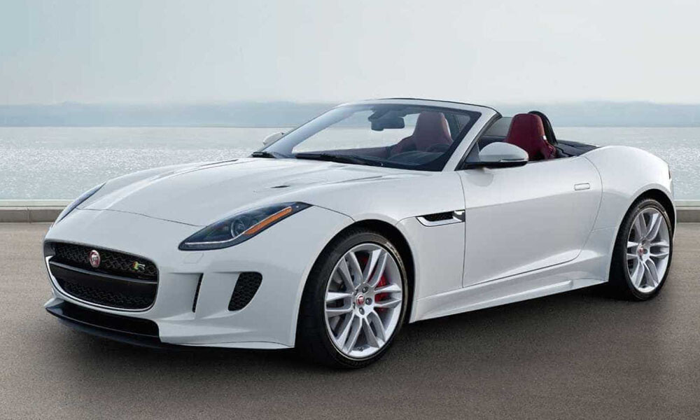 Jaguar F Type Convertible luxury car