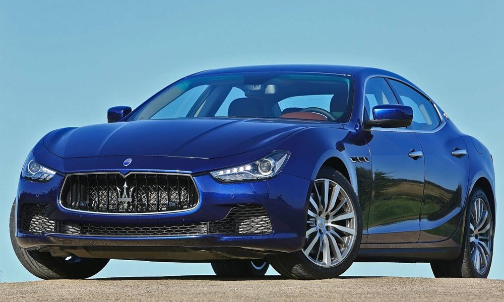 Maserati Ghibli luxury car