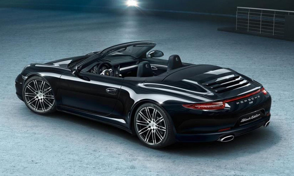 Porsche Convertible Luxury Car