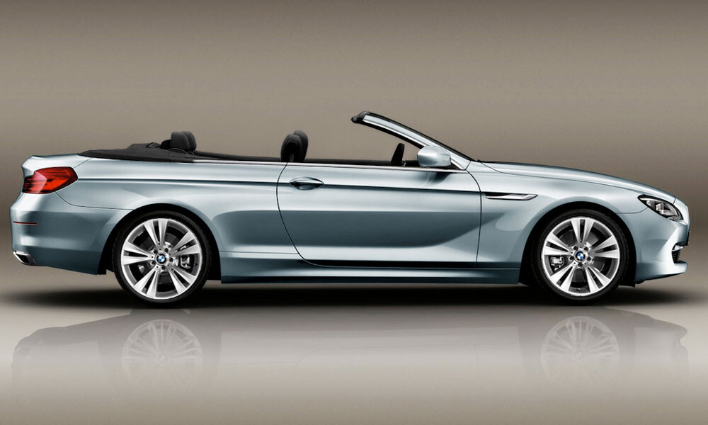 BMW 6 Series Convertible Luxury Car