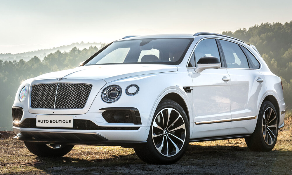 Bentley Bentayga car