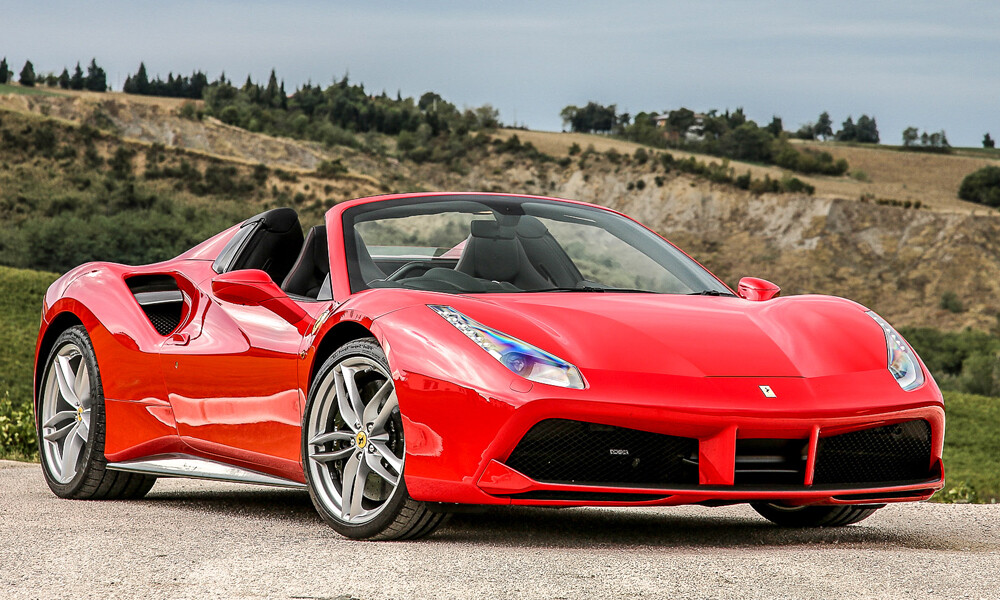Ferrari 488 Spider car