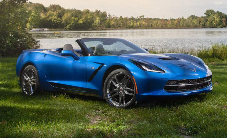 Corvette Stingray Convertible car
